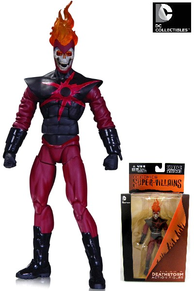 DC Comics Super Villains Deathstorm Action Figure